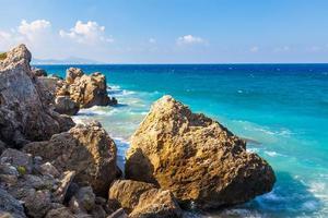 Rhodos Strand Griechenland