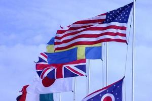 Flaggen foto