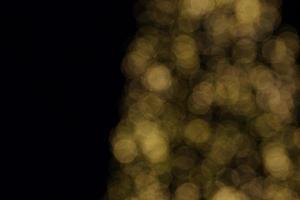 Bokeh Weihnachtsbaum foto