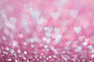 Herzen als Hintergrund. Valentinstag Konzept