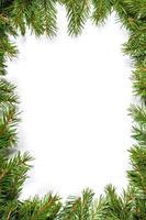 Weihnachtshintergrund. Vorabend Rahmen
