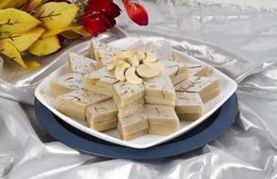 indisches spezielles traditionelles süßes Essen kaju katli