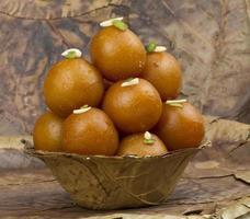 Gulab Jamun, traditionelles indisches süßes Essen