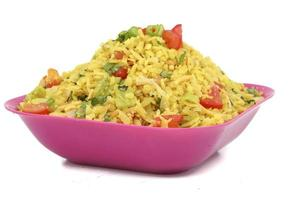 indisches Street Food Poha