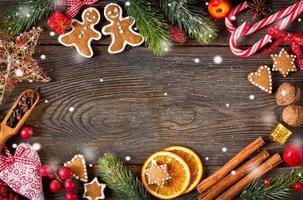 süßer Weihnachtshintergrund.