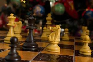 scacchi e il natale foto