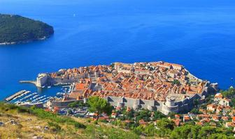 Panoramablick auf den Dubrovnik