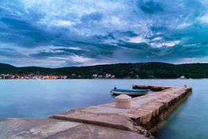 Dalmatien Sonnenuntergang in der Bucht