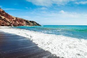 schöne Aussicht auf die Küste foto