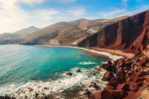 Blick auf die Küste foto