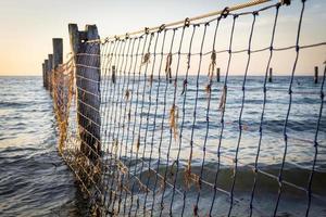 Netze am Meer foto