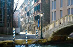 Stadtbild von Venedig foto
