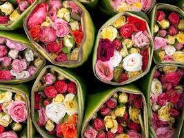 Blumenstrauß stieg foto