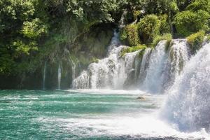 Krka-Nationalpark in Kroatien foto