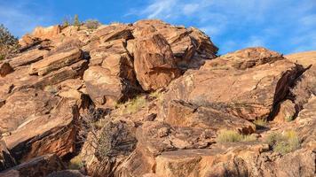 magmatischen Felsen, Bögen Nationalpark - Utah