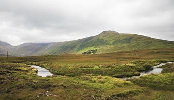 Nationalpark Connemara im Sommer.