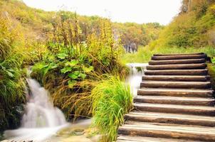 Plitvice Nationalpark in Kroatien foto