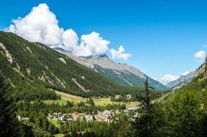 cogne und der gran paradiso nationalpark foto