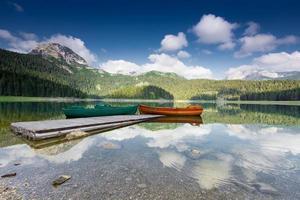 schwarzer See im Durmitor-Nationalpark, Montenegro