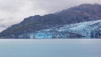 Gletscher im Gletscherbucht-Nationalpark, Alaska foto
