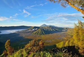 Mount Brom Vulkan, Indonesien foto
