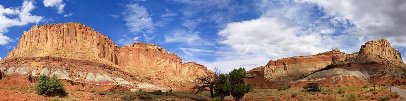 Panoramablick vom Grand Wash Road Capitol Reef National Park