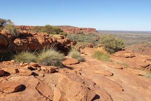 Kings Canyon, Australien foto