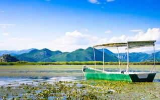 Boot im Skadar See Nationalpark, Montenegro