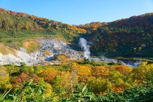 Herbstlaub von mt.hachimantai