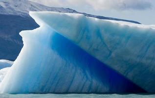 Eisberge. Eis. Perito Moreno Gletscher. Argentinien. foto