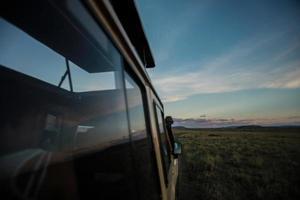 Fensterreflexion Masi Mara