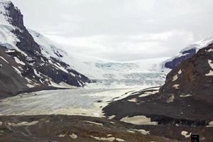 Kolumbien Eisfeld - Athabasca Gletscher foto