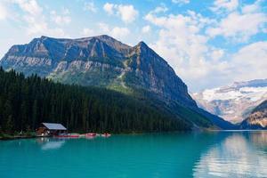 Lake Louise, Banff National Park, Kanada foto