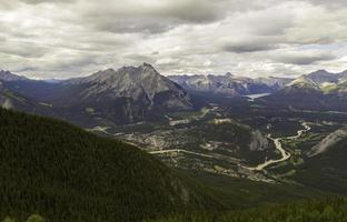 Banff Nationalpark und Banff Stadt