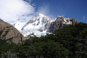 Gletscher in Patagonien foto