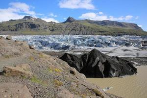 Svinafellsjokull Gletscher foto