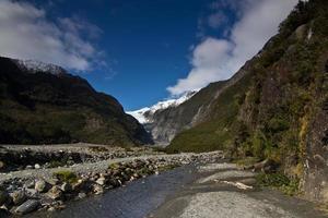 franz josef gletscher, neuseeland foto