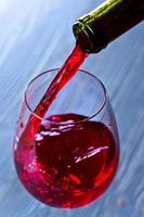 Rotwein foto