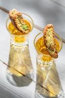 italienische Biscotti mit Erdnuss