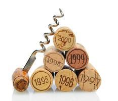 Korken mit Vintage-Datum