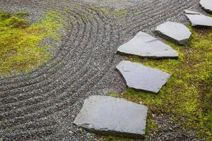 japanischer Garten. foto
