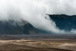Mount Brom Vulkan, Indonesien, Java
