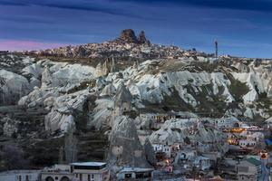 wunderbare Landschaft von Kappadokien in der Türkei foto