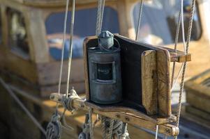 Block-, Tackle- und Segelboot-Takelage