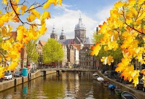 Kirche St. Nicholas, Altstadtkanal, Amsterdam