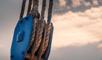 altes Seil. foto