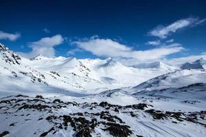 arktischer Frühling in Südspitzbergen.