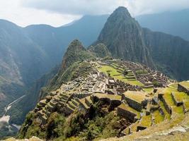 machu picchu in der cusco region von peru
