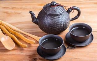 chinesische Teekanne zum Frühstück