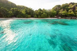 Flitterwochen Bucht und Strand in Similan Island, Thailand foto